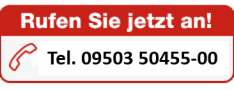 Hier steht die Telefonnummer 0950350455-00